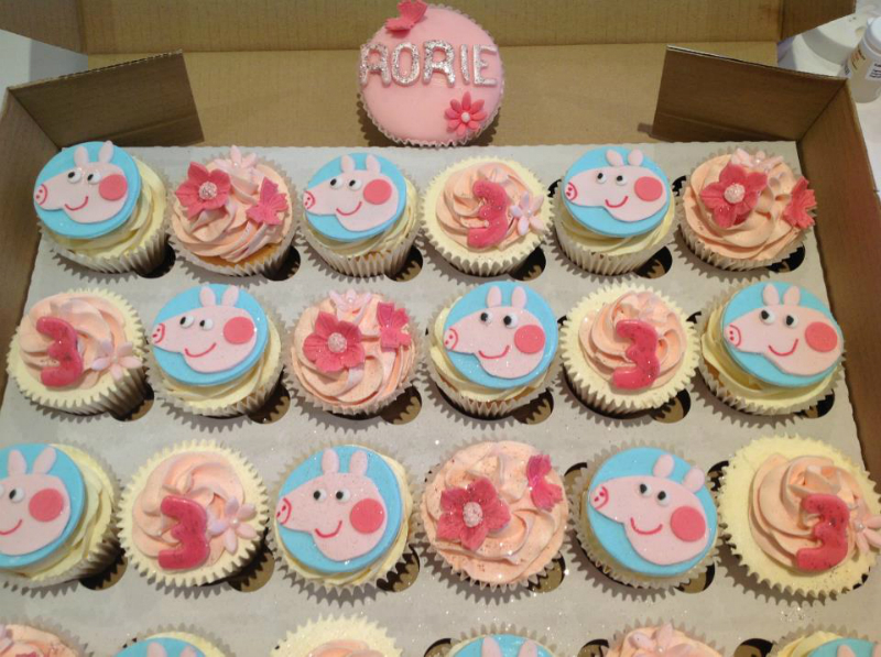 Asda Personalised Birthday Cakes In Store ~ Peppa pig cake decorations asda dmost for