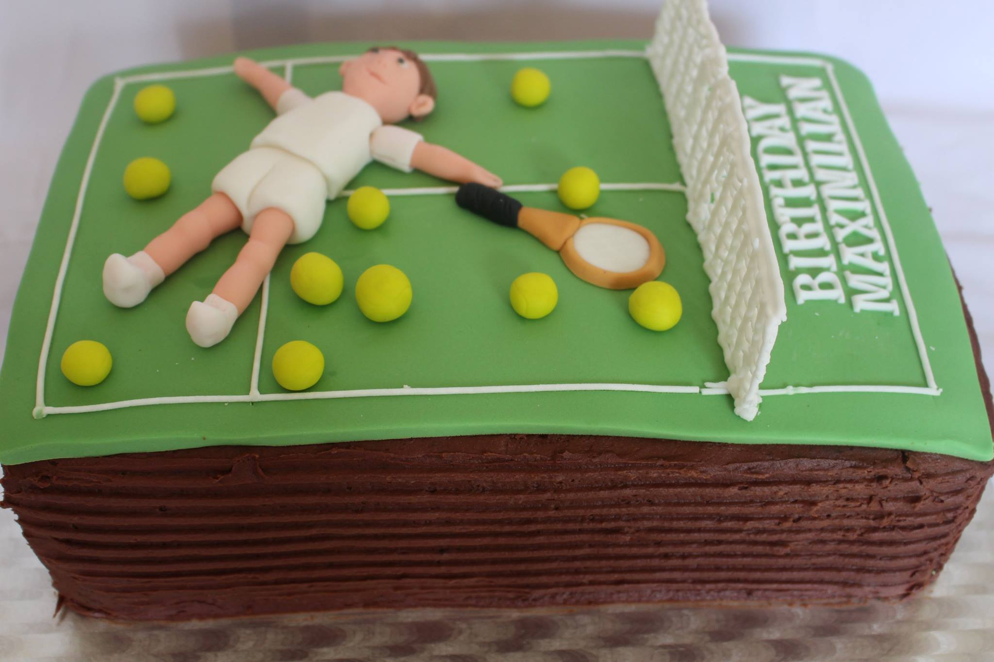 Tennis Decorations For Cakes