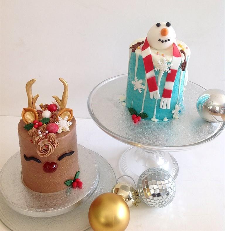 Christmas Mini Cakes Class